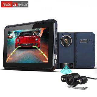 Junsun Car GPS Navigation 7 inch Android Radar Detector DVR Rear View Automobile Navigator EuropeNavitel Map truck gps sat nav (32699325735)  SEE MORE  #SuperDeals