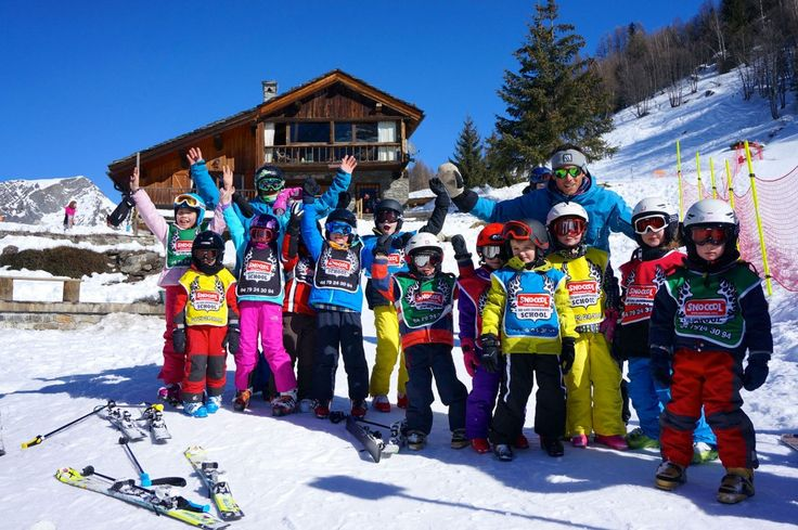 Big smiles at ski school with Snocool! Flexible and fun instruction to suit your child needs - Get in touch for more details!
