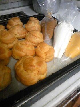 Perfect cream puff recipe 失敗しない黄金比のシュークリーム