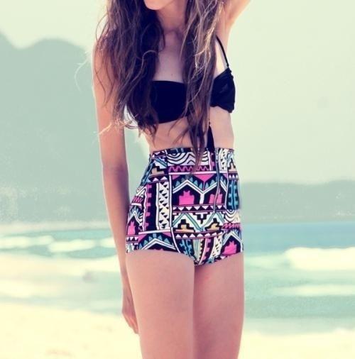 cute high waist swimsuits for teens   high waisted bikinis and normal one's