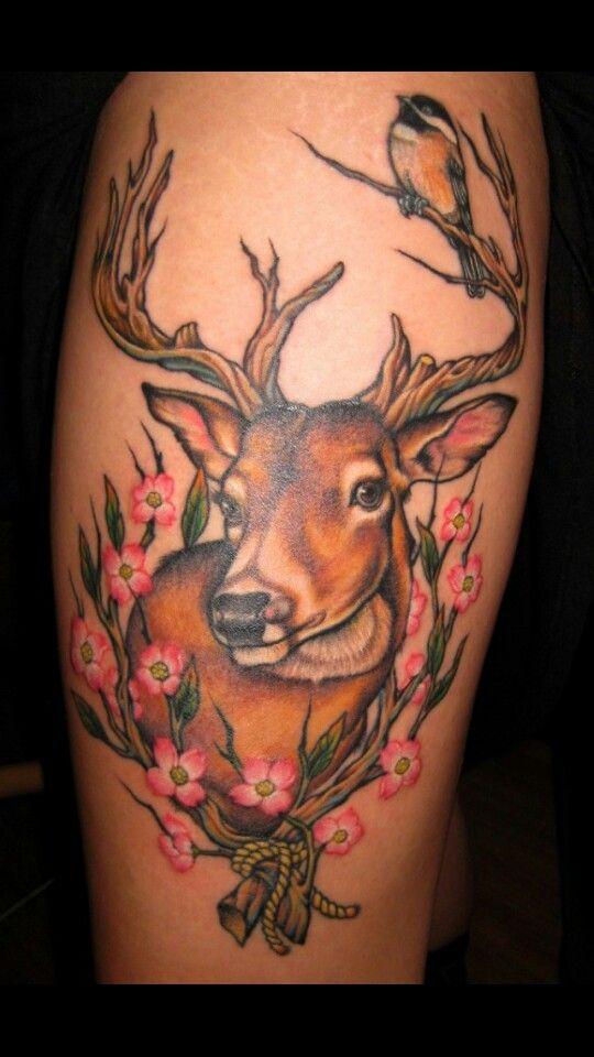 102 best images about tattoos on pinterest lion tattoo rustic dishtowels and deer. Black Bedroom Furniture Sets. Home Design Ideas