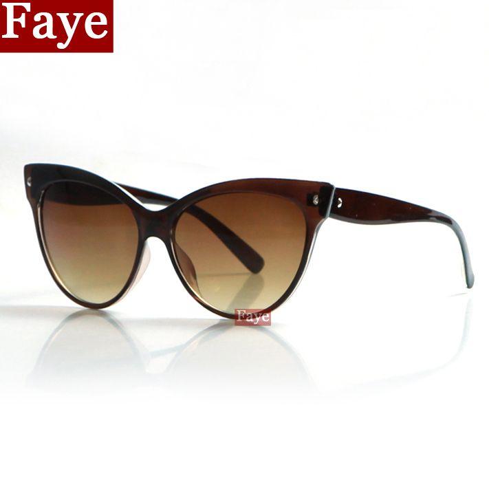Encontrar Más Gafas de Sol Información acerca de 2016 nuevo ojo de gato gafas de sol mujeres diseñador de la marca gafas de sol Vintage moda de gafas de sol mujer gafas de sol feminino S328, alta calidad gafas de sol de bloque, China gafas de sol blanco Proveedores, barato gafas de sol del tirón de Faye Glasses en Aliexpress.com