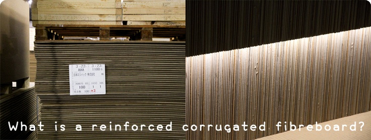 #material - What is a reinforced corrugated fiberboard?