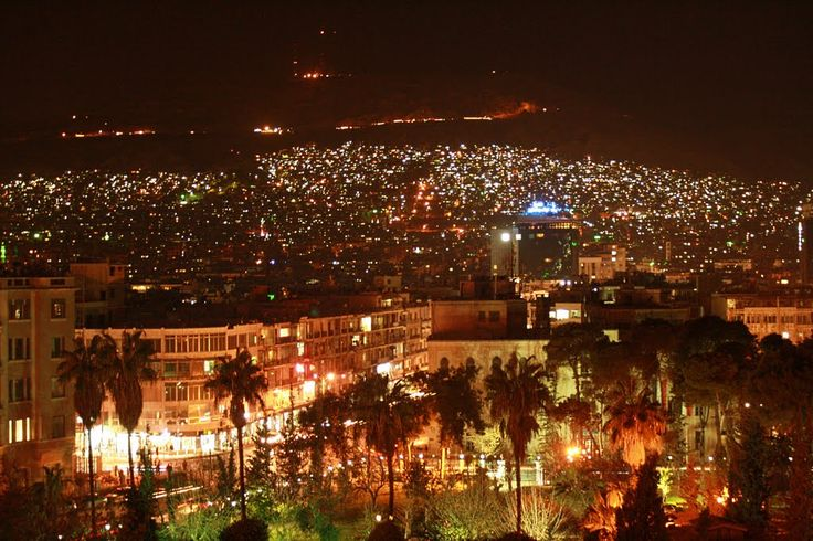 Damascus by night by depro