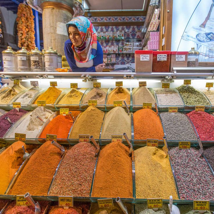 25. Spice Bazaar:  Another market in Istanbul that has to be checked out is the Spice Bazaar (Mısır Çarşısı in Turkish). Spices, sweets, nuts, and dried fruits can all be found here.