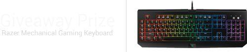 Razer BlackWidow Ultimate Mechanical Keyboard Giveaway -... IFTTT reddit giveaways freebies contests
