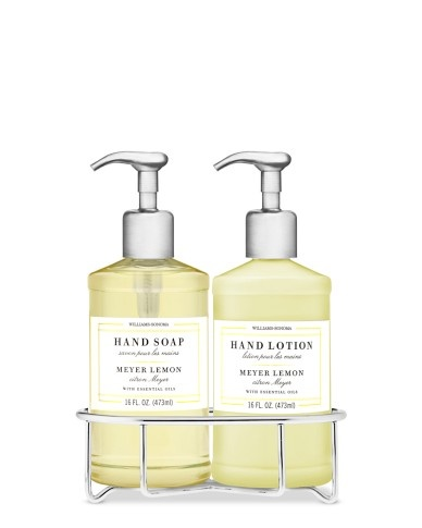 Williams-Sonoma Essential Oil Collection Deluxe Hand Soap & Hand Lotion, Meyer Lemon