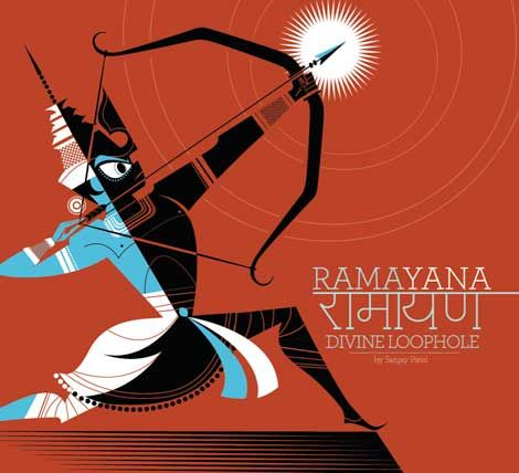 Ramayana: Divine Loophole the latest book from Pixar animator and illustrator Sanjay Patel.
