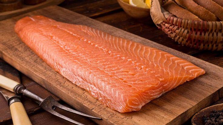Filetto di salmone fresco, ricette con salmone, trancio di salmone alla griglia