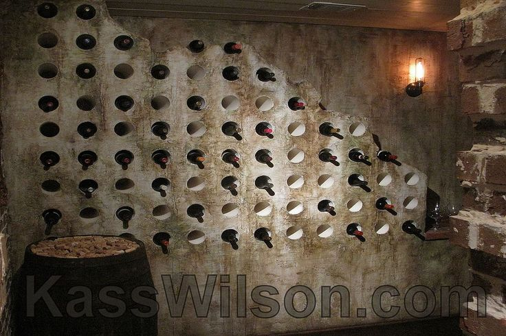 Time Travel . . . A Clever Wine Cellar Idea