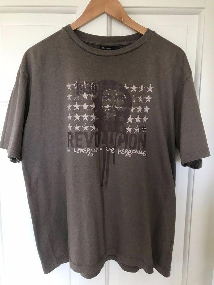 Men's Large Che Guevara T-Shirt #CedarWoodState