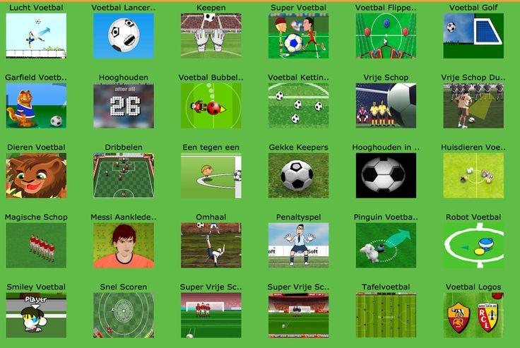Overzicht van alle voetbal spelletjes!