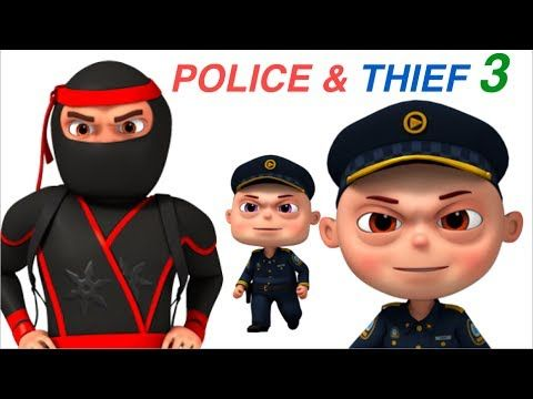 Zool Babies Police And Thief | Part 3 | Cartoon Animation For Children | Videogyan Kids Shows - YouTube