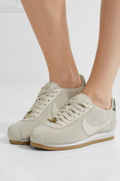 Nike - A.l.c. Classic Cortez Suede Sneakers - Off-white
