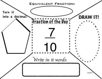 BELL RINGER: FRACTION OF THE DAY (23 DAYS