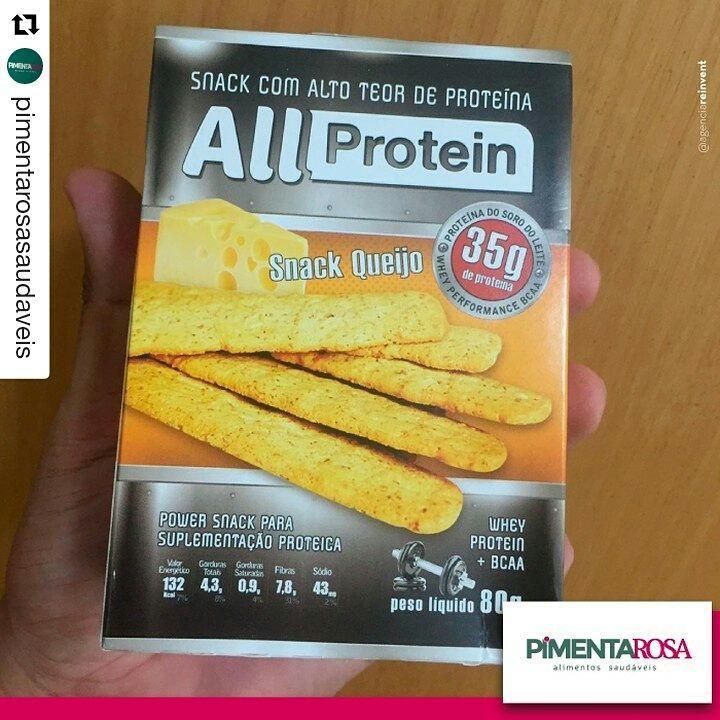 ALL PROTEIN EM ANÁPOLIS - LOJA PIMENTA ROSA  Pessoal de Anápolis visitem a loja Pimenta Rosa Produtos Saudáveis para experimentar os produtos All Protein  Snack queijo com alto teor de proteína! All Protein 💪...