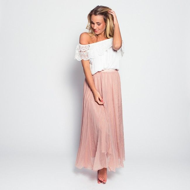 Once Upon A Time Maxi Skirt -  - Now available @ www.myfavouritemusthaves.com #newarrivals #ibiza #musthaves #maxiskirt