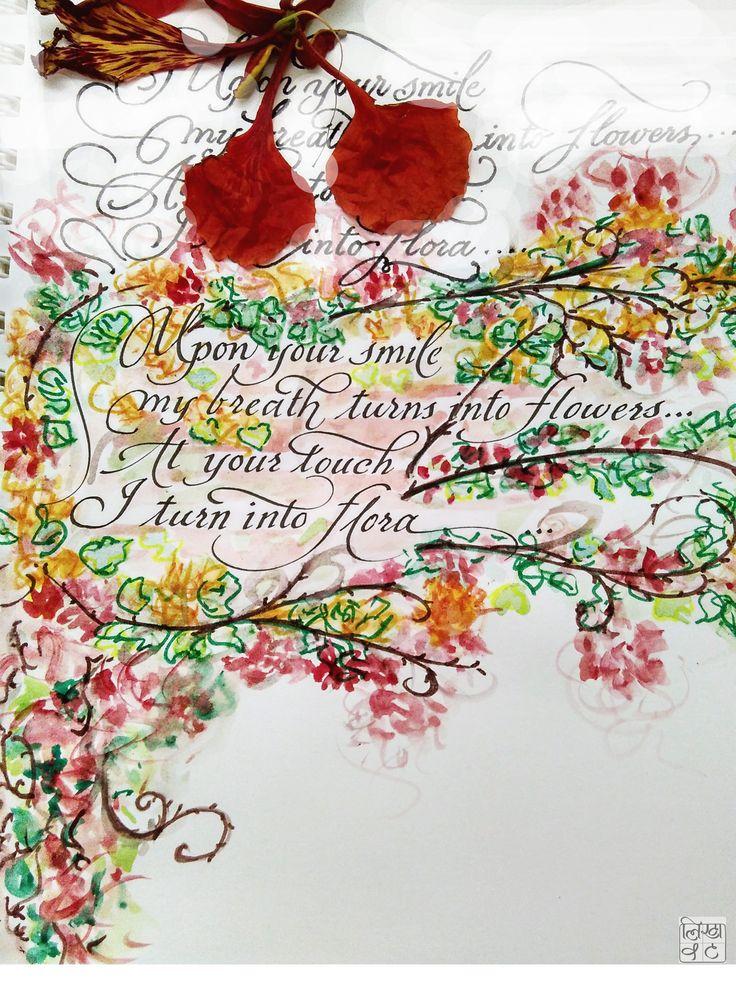 58 best Indian Calligraphy images on Pinterest Calligraphy - schwarz weiße küche