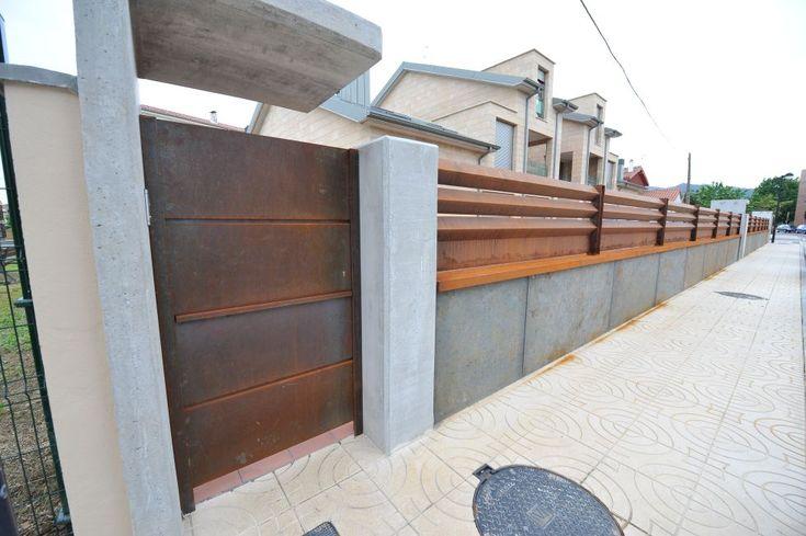 Cierres exteriores acero cortén   modenox.com