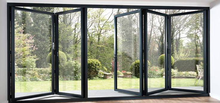 The Innovative Tri Fold Patio Doors Trifold Windows Either Full Length Or Half Along One Side Or Part is one of the pictures that are related to the pictur