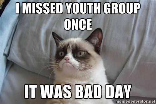 """10 Hilarious Memes That Sum Up Your Youth Group   Project Inspired"""""""