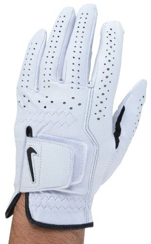 Nike Men's Classic Fit Left Hand Golf Glove-White