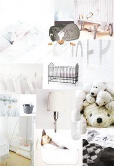 collage gemaakt voor babykamer M Style interieuradvies