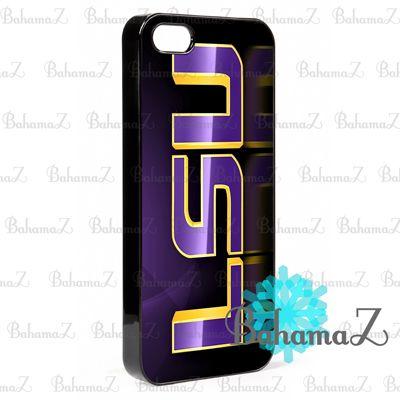 New Rare LSU Tigers NFL American Football iPhone 5 5S Case | Bahamaz - Accessories on ArtFire