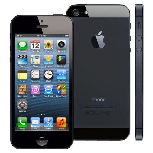 """iPhone 5 Preto 64GB - Apple - iOS 6 - Câmera de 8MP - 3G - Wi-Fi - GPS - Tela Multi-Touch 4"""" - Desbloqueado Compre em oferta por R$ 999.00 no Saldão da Informática disponível em até 6x de R$166,50. Por apenas 999.00"""