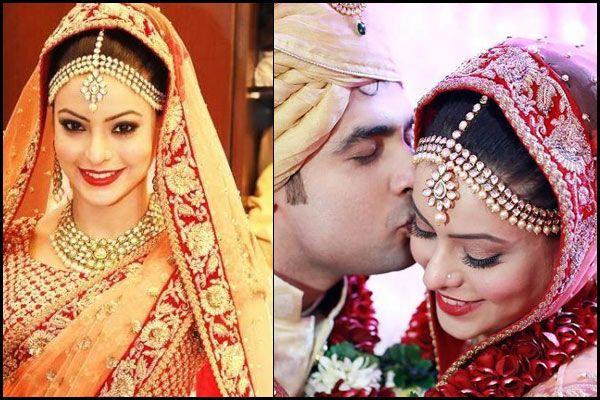 Top Maang Tikkas Designs And Pattern Worn By Bollywood Actresses On Their Wedding Day - BollywoodShaadis.com