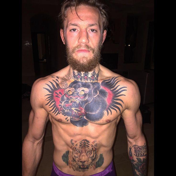 Conor McGregor MMA Fighters  Tattoo Art  Pinterest  MMA