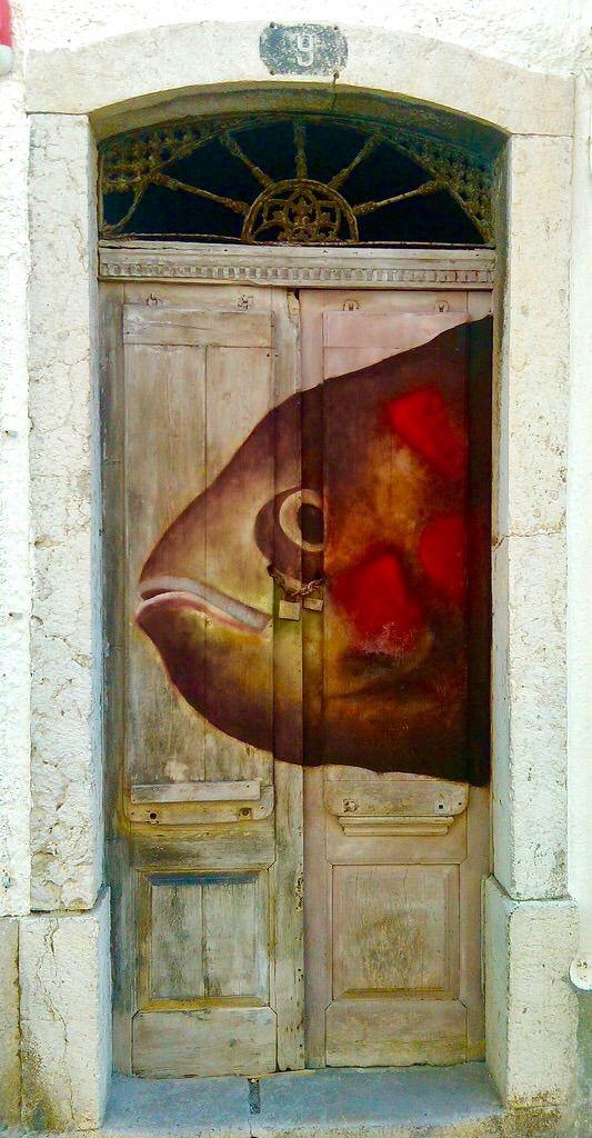 Stunning Doors ~ Sesimbra, Portugal