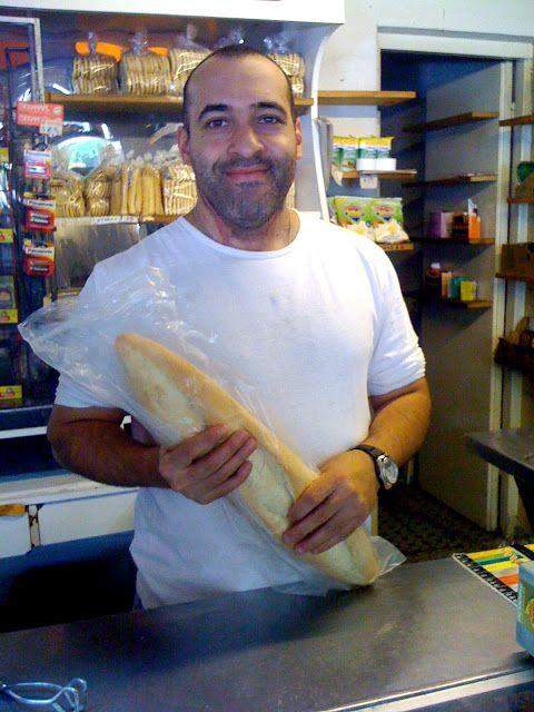 Martin the baker, Montevideo, Uruguay