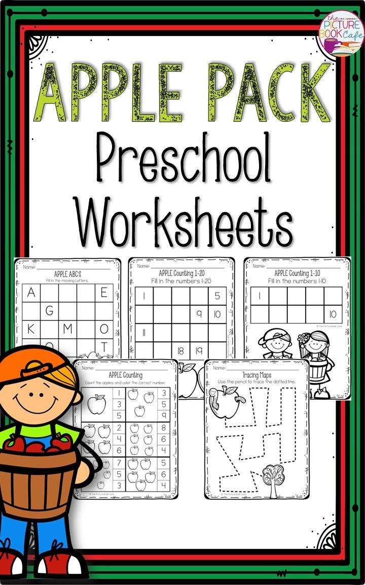 counting kindergarten packet