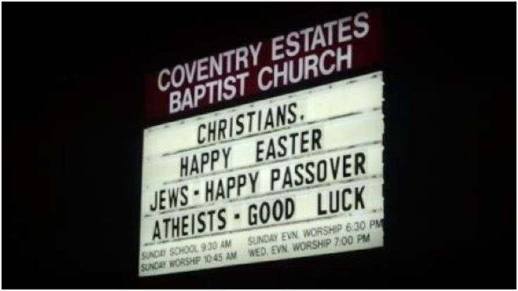 We've scanned the Internet and put together this list of some of the best church signs for Easter -- Resurrection Sunday. Happy Easter everybody. HE IS RISEN!