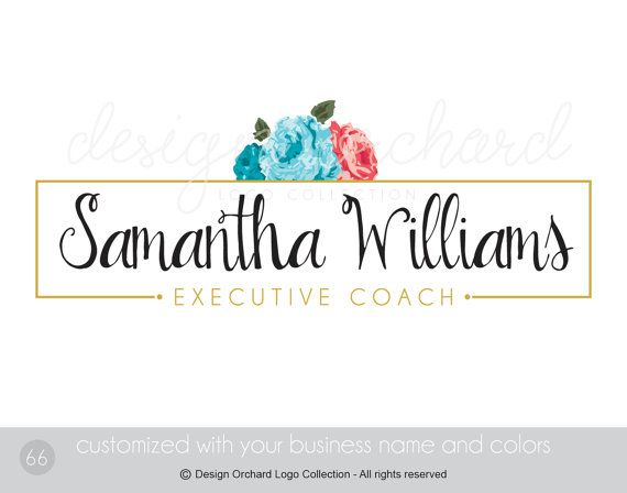 Coach Logo Professional consultant business by DesignOrchard