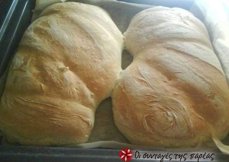 Σπιτικό ψωμί τσιαπάτα