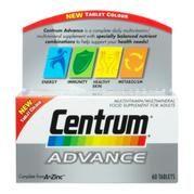 Centrum Advance x 60 Tablets - £9.20 #diabetes