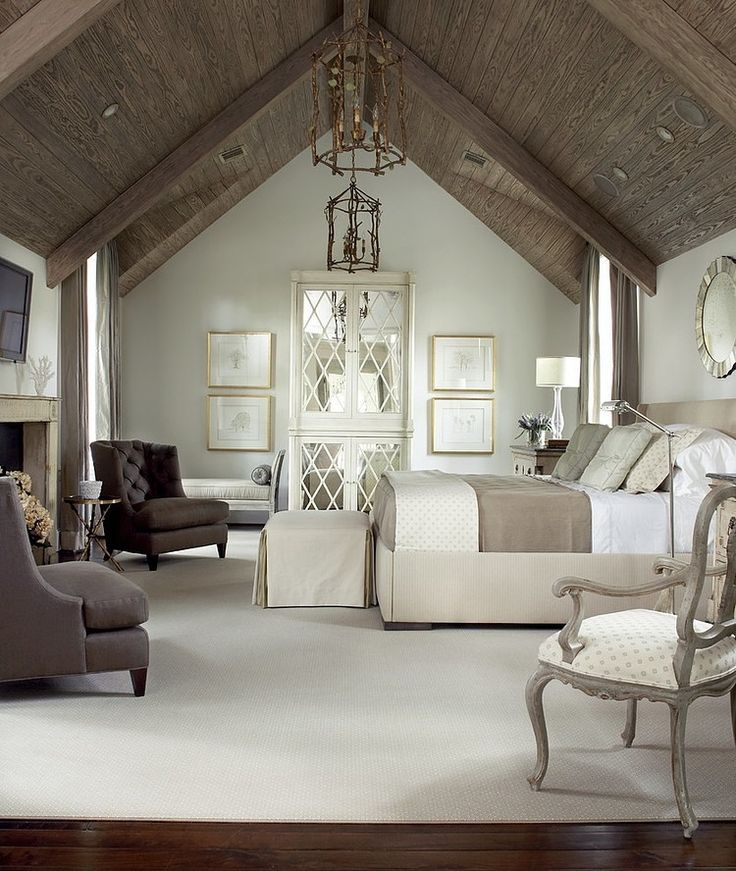 looking for cathedral ceiling bedroom design and decorating ideas browse bedroom vaulted ceiling photo gallery from top interior designers to get inspired - Relaxing Master Bedroom Decorating Ideas