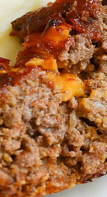 ... Cheesy Meatloaf on Pinterest | Meatloaf Sauce, Meat Loaf and Meatloaf