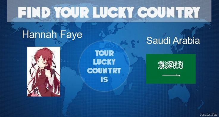 Check my results of Find Your Lucky Country Facebook Fun App by clicking Visit Site button