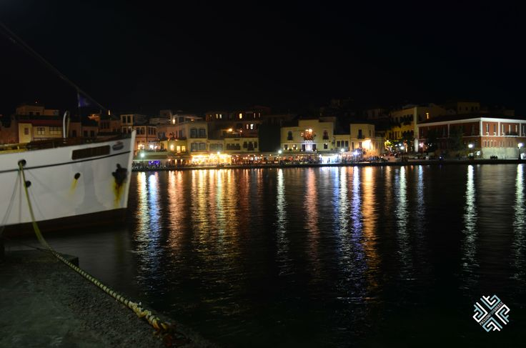 Chania at night #chania #crete #passionforgreece #greece
