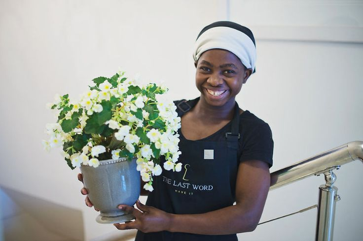 Esther - a permanent staff member at The Last Word Long Beach.