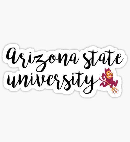 Arizona State University  Sticker