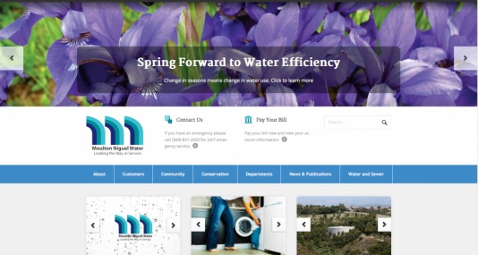 Moulton Niguel Water District Website