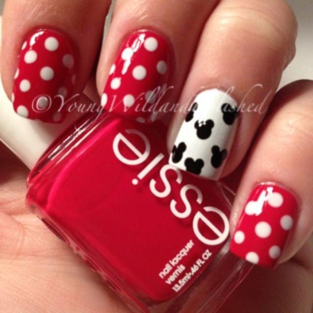 Mickey Nails!!