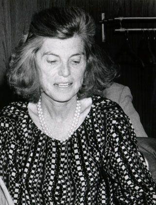 Eunice Kennedy Shriver.