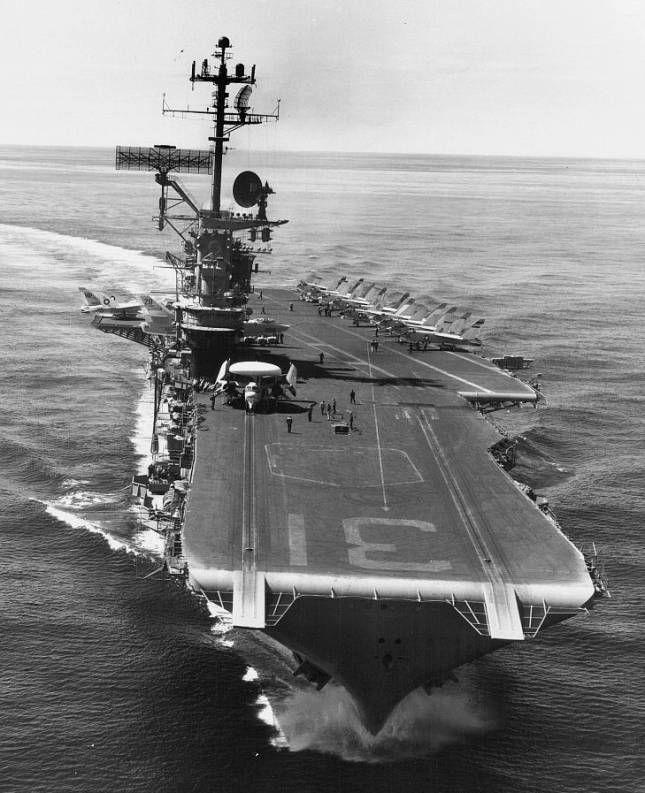 US Aircraft Carrier VIETNAM | CVW-21 carrier air wing twenty one aboard USS Bon Homme Richard CVA-31