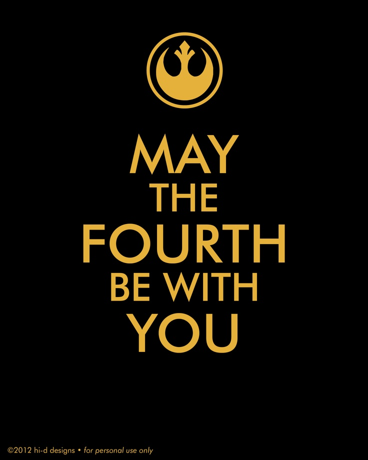 Happy Star Wars Day: 122 Best May The 4th Be With You Images On Pinterest