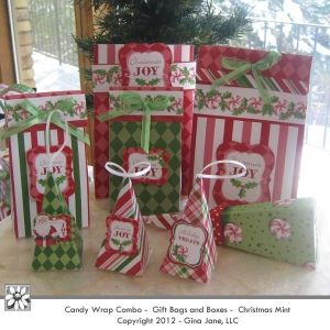 Xmas Gift Bags Make It Yourself
